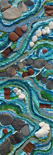 FLOWING MOSAIC £495 incl. p&p
