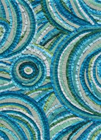 MEDITERRANEAN DAYDREAMS MOSAIC £395 incl. p&p