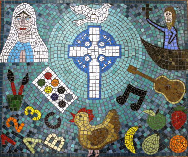 Whole school mosaic