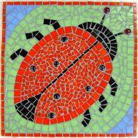 Ladybird school mosaic