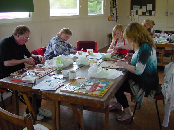 One day workshop with East Riding Artists