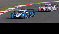 Racing at Silverstone