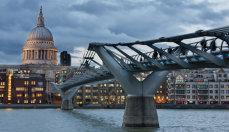 St Paul's and The Millennium Bridge