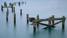 Swanage Old Pier Remains