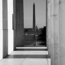 From the Lincoln Memorial