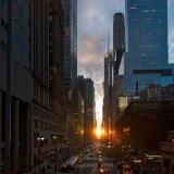 Manhattanhenge Sunset