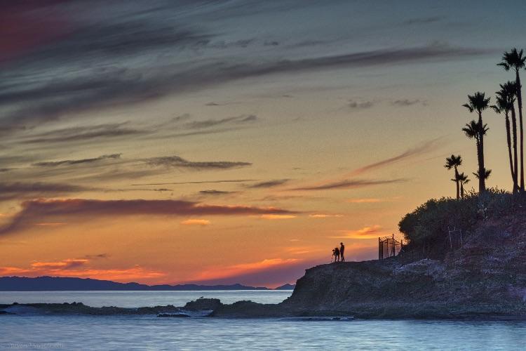 Shooting The Catalina Sunset