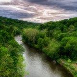 Rondout River, Shawangunk Mountains
