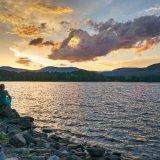 Sunset, Cooper Lake