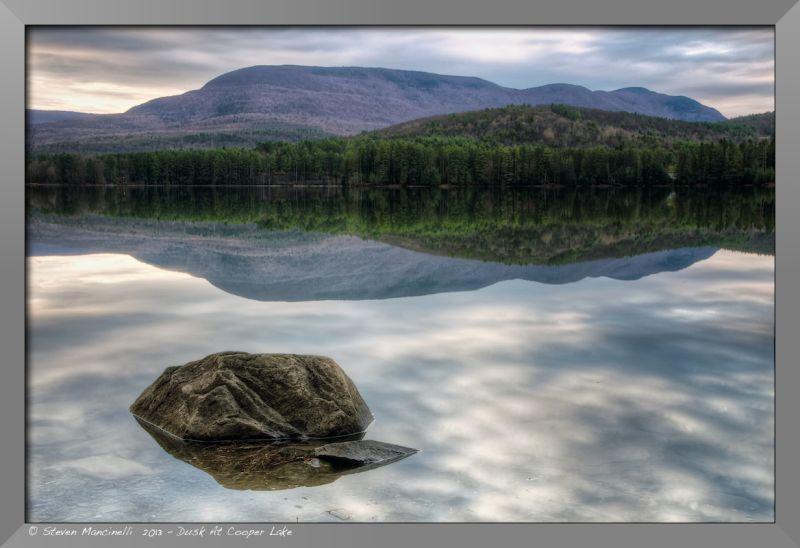Dusk, Cooper Lake