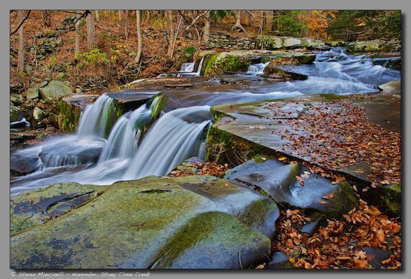November Falls, Stony Clove Creek