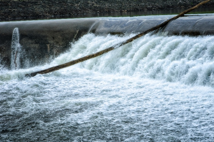 Trapped In The Spillway