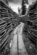 Bayernwald German Trenches.