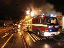 FIRE SCENE - EAST LONDON