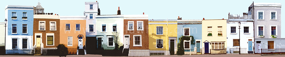Terrace in W8 Notting Hill