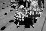 Ruffled skirts and shadow dots