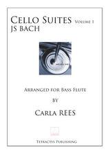 JS Bach  - Cello Suites Vol 1 BASS FLUTE
