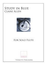 Claire Allen - Study in Blue