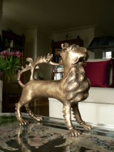 Homage to 14thC. German Aquamanile. For a London collector