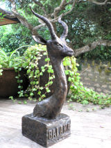 The 'Galana Gerenuk' in Bronze.