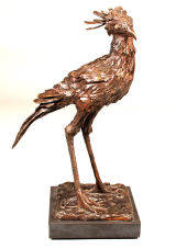 Secretary Bird. Edition of 9. 24Lx16Wx41cmH £3600
