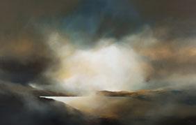 Loch Ness  Glen Albyn 2.10 x 1.3 m Oil