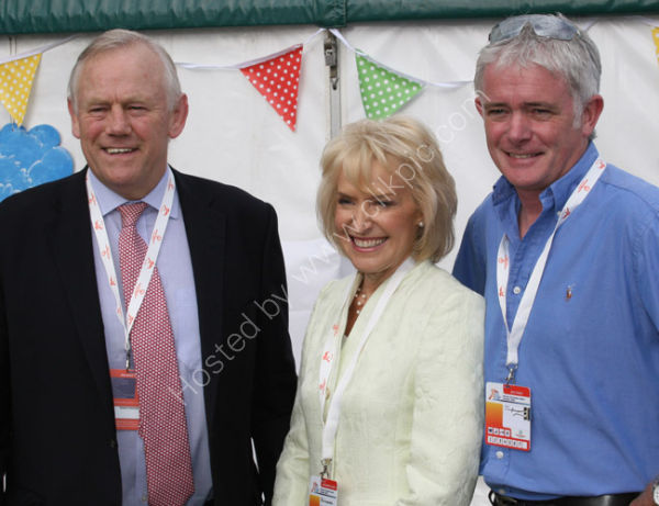 Peter Wheeler, Leicester Tigers and Rosemary Conley CBE
