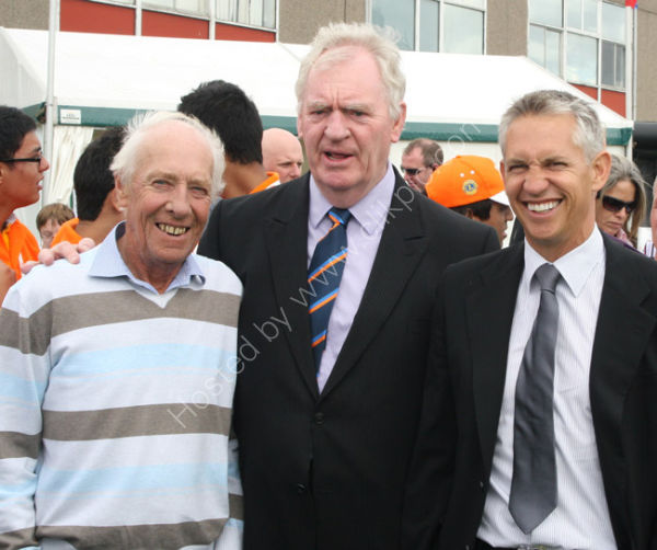 Barry Lineker, Gary Lineker and Lawrie McMenemy 2