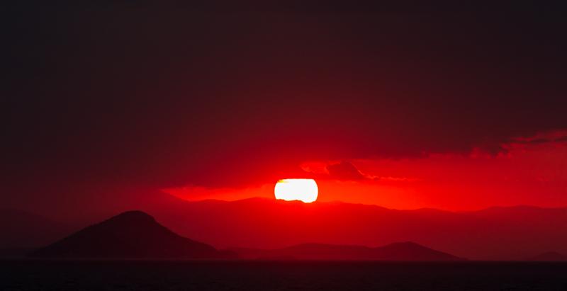 Greek Island Sunset