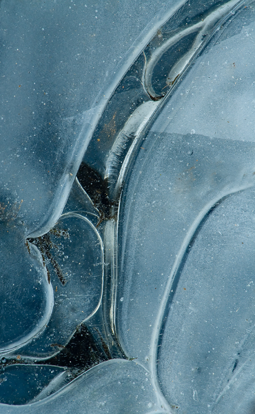 Ice Abstract - Jill Riggs LRPS