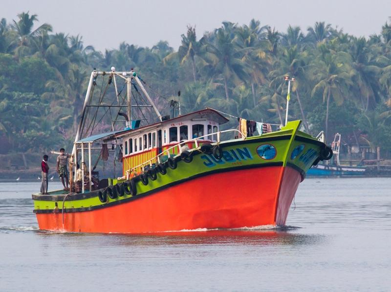 Kochi fishing boat