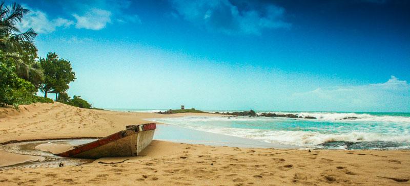 Sri Lanka beach by Pat Norris