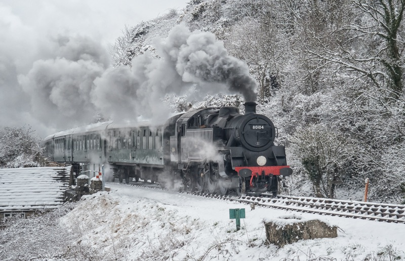 Winter on the Railway - Alan Bevis
