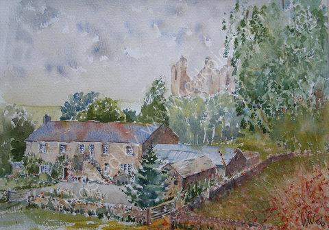 Holmhead, near Hadrian's Wall