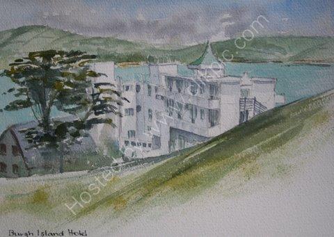 Burgh Island Hotel, England