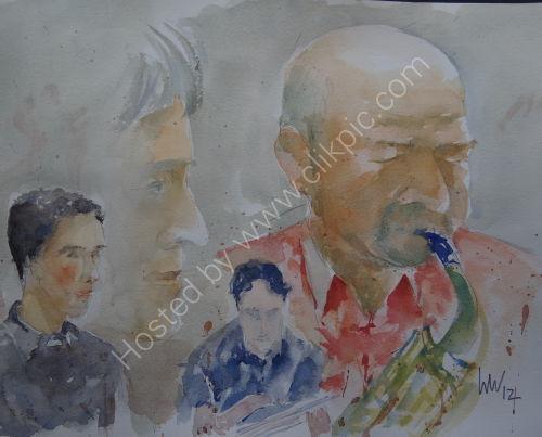 Steve Oakes Quartet at Burgundy's 4 Oct 2012
