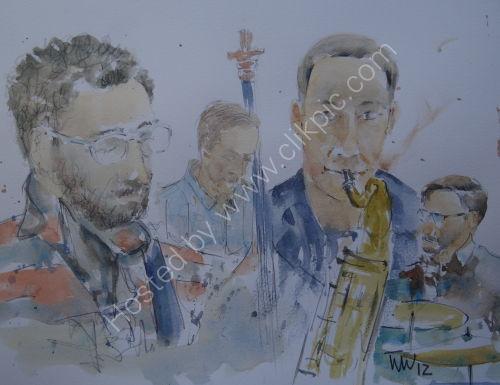 Joe Montague Quartet, Burgundy's, 1 Nov 2012