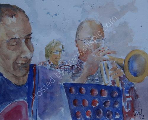 Mervyn Bean, Peter Kassell and Mike Kidson Burgundy's 6 Dec 2012