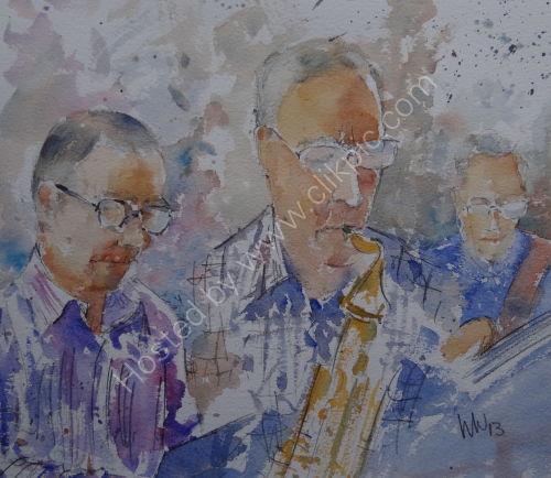 Peter Major Quartet, Burgundy's 10 Jan 2013