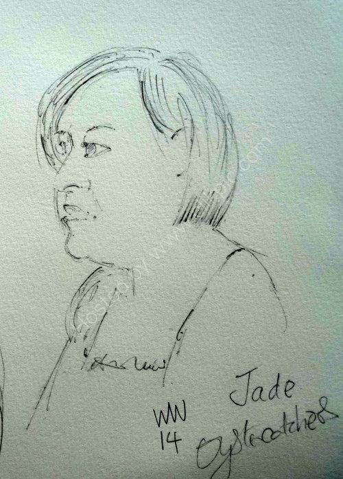 Jade Goddard 1,2014 Moniaive Folk Festival