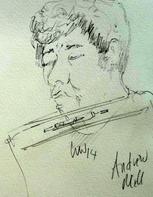 Andrew Mill, 2014 Moniaive Folk Festival