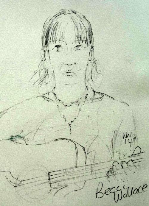 Becci Wallace, 2014 Moniaive Folk Festival