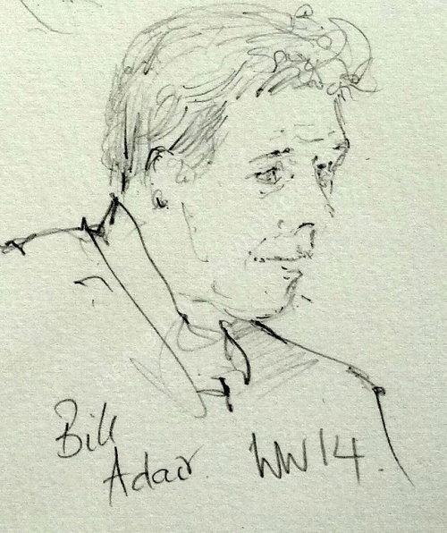 Bill Adair, 2014 Moniaive Folk Festival