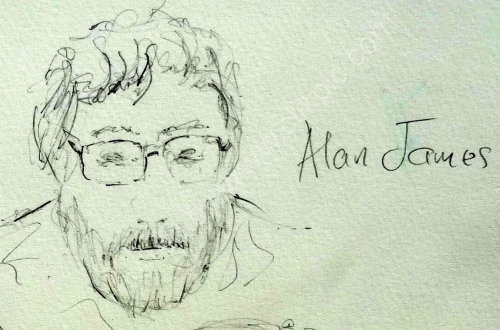 Alan James, 2014 Moniaive Folk Festival