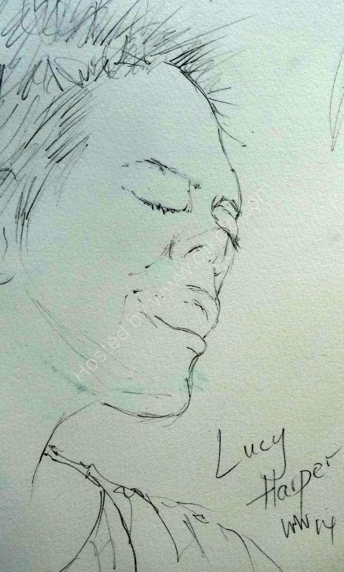 Lucy Harper, 2014 Moniaive Folk Festival