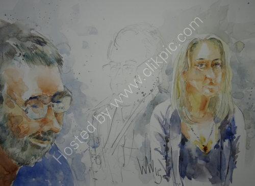 Charlotte Dalton & Frank Flynn of Quay Change on 2 April 2015
