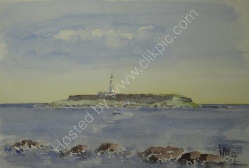 Island off SE Arran 2014