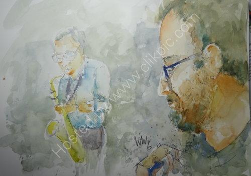 Paul Palmer & Jon Moreman of Quincy Street on 8 Dec 2016