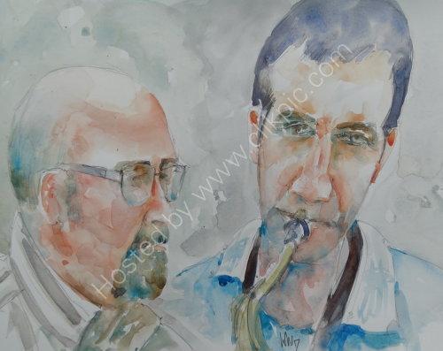 Freddie Garner & Tim Collins of the Freddie Garner Quartet on 16 March 2017