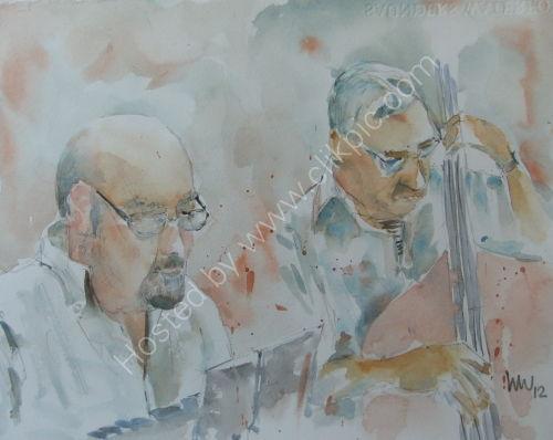 Freddie Garner & Stuart Riley at Burgundy's 23 May 2012